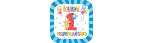Coordinati Compleanno 1st  Anno