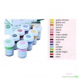 Colorante gel wilton verde foglia 28g